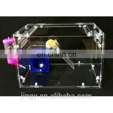 jingyue hot sale acrylic material handmade cage hamster