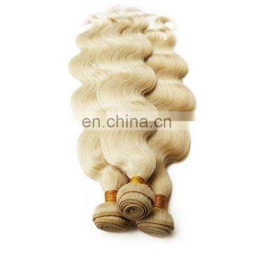 Alibaba wholesale blonde color human hair weaving free shipping fast delivery remy brazilian body wave hair extension