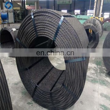 12.7mm and 15.2mm prestressed concrete steel strand 7 wire pc strand