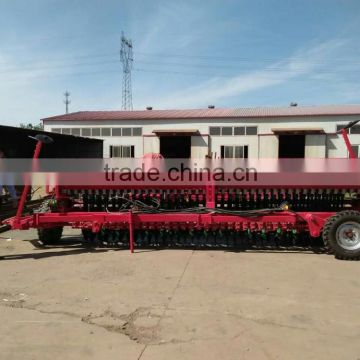 Working width 5.6m hydraulic type tractor agriculture farm 36 rows alfalfa wheat sesame seed planting machine                                                                         Quality Choice
