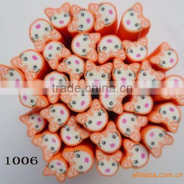 LNU-1006 Polymer clay sticks fruit canes & Polymer clay flower nail cane & fruit nail art cane