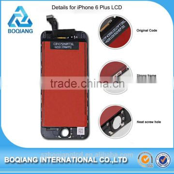 hot on sale new products repairing use small round transparent lcd screen display for apple iPhone 6 plus screen