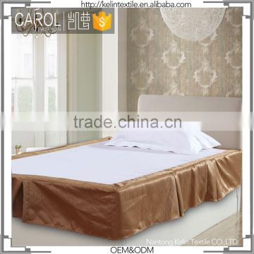 non-toxic commercial for shanghai exported hotel bed skirt