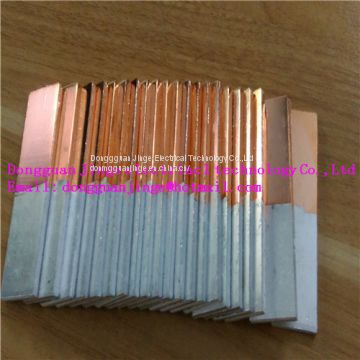 Special shape small size copper aluminum transition joint