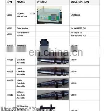 DELPHI E3 electronic unit injector testing machine