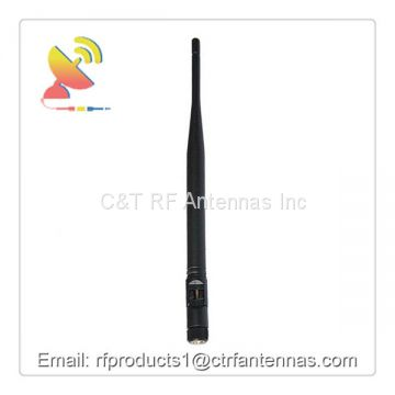 RF Antenna Omnidirectional Wifi Antenna 2.4 GHz 5 dBi Rubber Duck Antenna - SMA-Male Connector