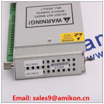 Communication Gateway Module 3500/92 Bently Nevada 3500 System