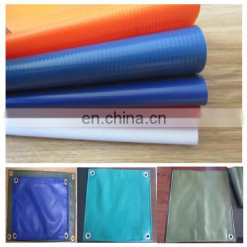 China manufacturer PVC coated fabric, waterproof PVC tarpaulin for truck cover