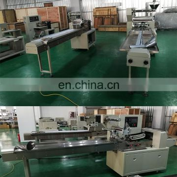 automatic bread packing machine paper packaging machine pillow type packing machine