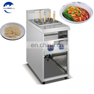 Stainless Steel Electric 6 Noodle Pasta Cooker Top With Side Bain Marie