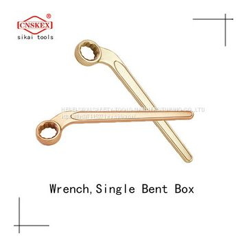 Non Sparking Tools Wrench Single Box Offset