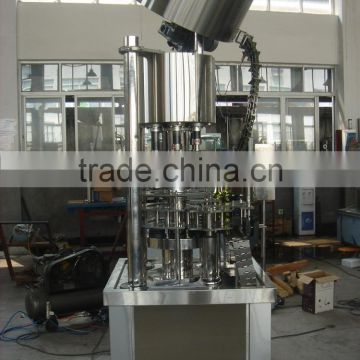 fully automatic screw capping/sealing machine for wine bottle