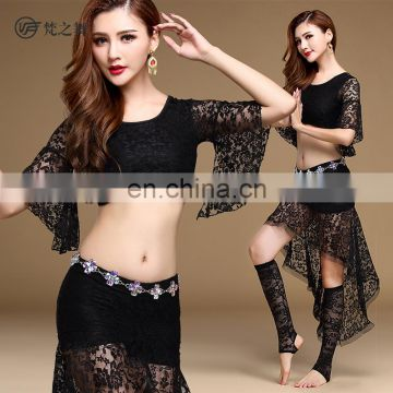 T-5137 Turkish style sexy lace belly dance costumes set
