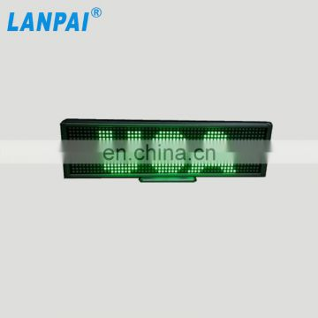 P5 digital scrolling led display advertising for car