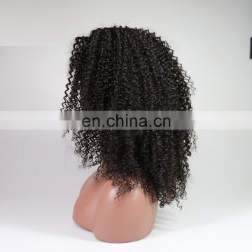human hair 360 front lace wig