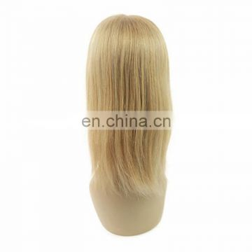 Brazilian human virgin hair full lace toupee for women,human hair toupee silk top for women, women hair toupees