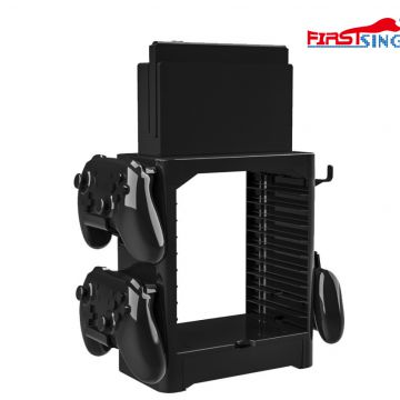 Firstsing Multifunctional storage bracket disc bracket host shelf for Nintendo Switch