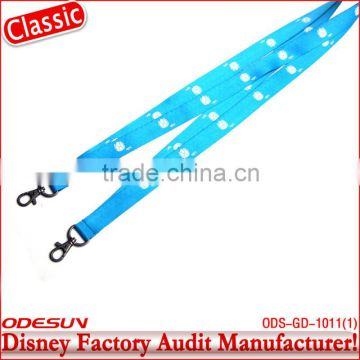 Disney factory audit single custom lanyard 143219