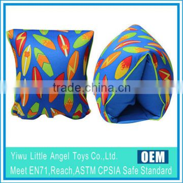 Fabric cover PVC inflate swim wings arm bands                                                                         Quality Choice