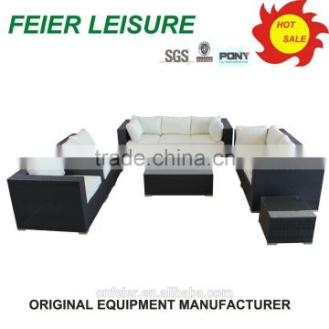 new design grey rattan outdoor furniture