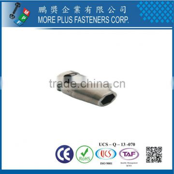 "Made In Taiwan 1/4"" SQ DRIVE SOCKETS FOR SAE SHEET METAL SCREWS WITHOUT MAGNETIC"