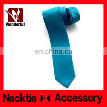 Modern manufacture polyester plain necktie for school