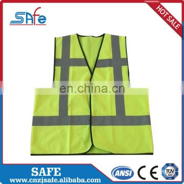 Roadway safety camo safety reflective high visibility CE vest for running