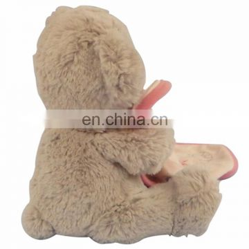 2017 baby dolls toys wholesale lovely stuffed toy mini bear plush toys for kids bedroom decor