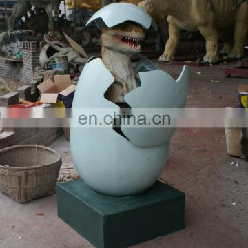 amusement park hatching dinosaur egg shipping from China