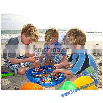 Hot Selling Hand washable Outdoor And Indoor Baby Toy Receive Bag Toy Mat