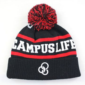 Joy Fashion Hat Supplier Manufactory OEM Custom Embroidery Knitted Beanie