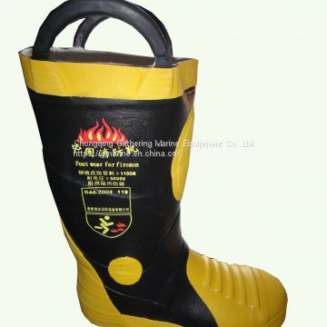 EC Standard Fire Fighting Boots / Fire Resistant Safety Boots