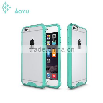 2016 Cell phone accessory ultrathin clear crystal gel soft tpu phone case for apple iphone 6