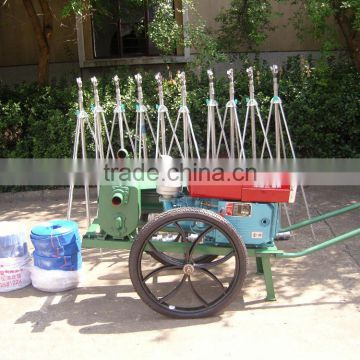 Agricultural Rims 18.5CP-60 Irrigation System with Wheel Barrow for Carrying