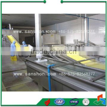 broccoli pretreatment production line