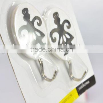 2PC New design round plastic hook