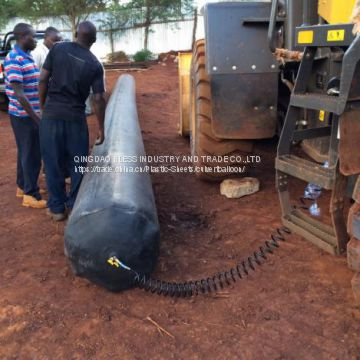 rubber balloon used for making rainwater lines, industry water lines in Kenya, Nigeria