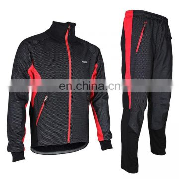 chinese clothing manufacturers C01 Male Biking Racing Suit Jersey Jacket Pants Long Sleeve Sportswear Outdoor Clothes clothing