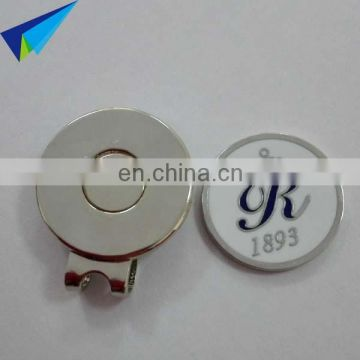 2016 New arrival blank golf ball marker hat clip with company logo