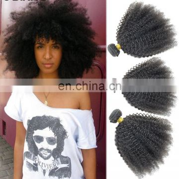 china hair factory 10a grade peruvian hair afro curly raw indian curly hair