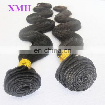 Full cuticle 10A grade 100% virgin wholesale brazilian human hair sew in weave
