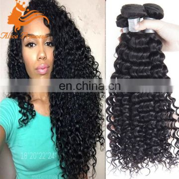 Deep Curly remy human hair weft 3 Pcs Brazilian Virgin Hair Weave Bundles 7A Brazilian Human Hair Extensions