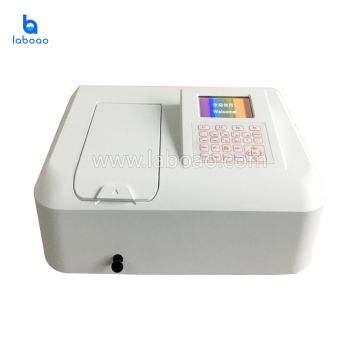 Single beam UV Visible spectrophotometer instrument  for medical
