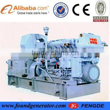 Hot sale marine generator with MWM engine 150kw