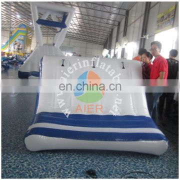 AIER Cute Mini kindergarden inflatable water slide for kids