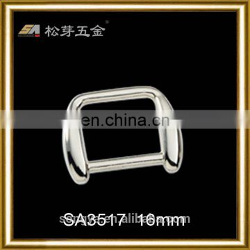 2016 China Guangdong Factory Produced Flip Flop Buckles, Customized Plated Metal Buckle For Flip Flop