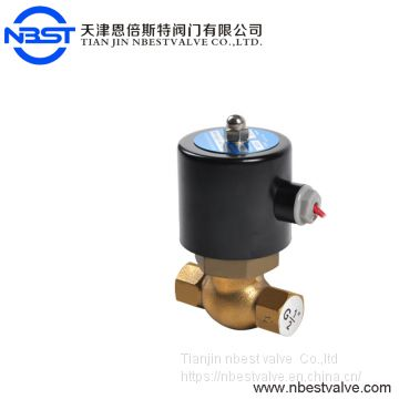 High Temperature Steam Brass Solenoid Valve For Pipeline System