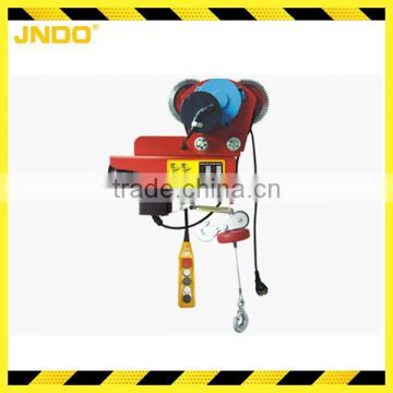 Mini 400kg wireless remote control electric cable hoist