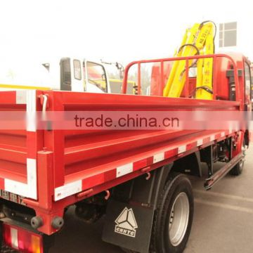 CNHTC 5T CDW 777BP2D light truck with crane (china manufacturer)