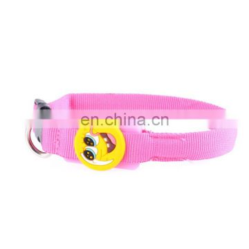 Hot selling hotsell led dog training collar pet collar flashing led dog collar with CE certificate